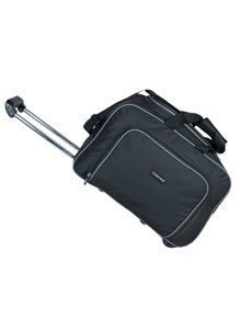 Indian Riders Travel Bag with Trolley - Black (IRTB-007)